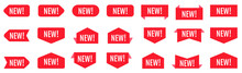 New Sticker Set. Red Promotion...