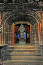 Glasgow Cathedral Interior, Glasgow, UK.