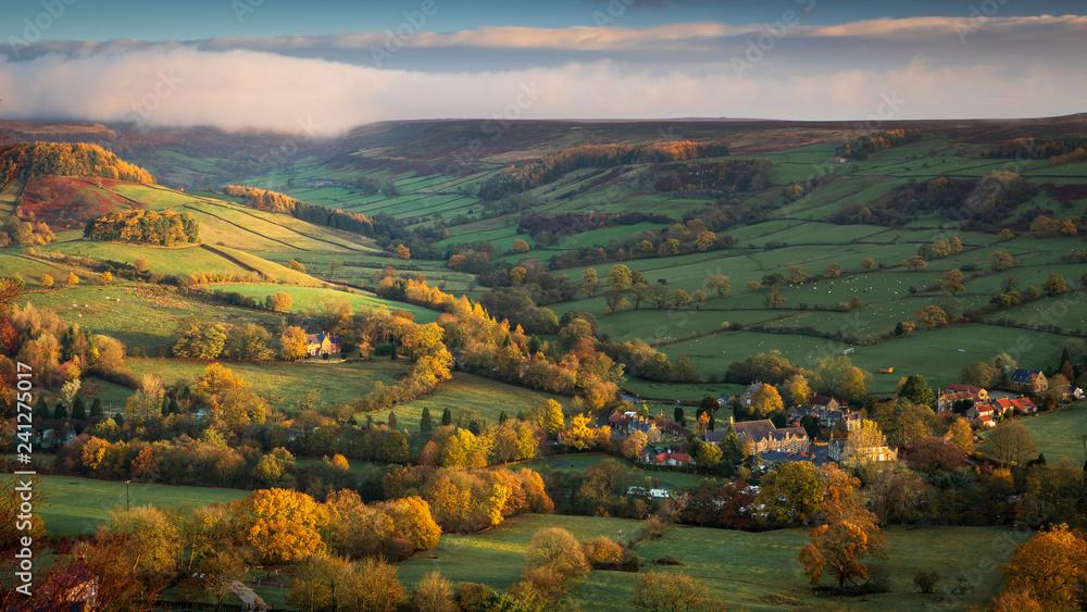 Fototapeta Rosedale Abbey View