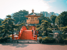 Golden Pagoda Of The Nan Lian ...