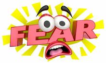 Fear Afraid Cartoon Face Terro...