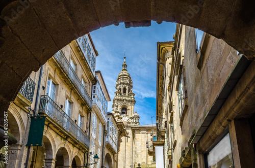 Fotografija Architecture in Santiago de Compostela, Spain