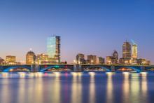 Boston, Massachusetts, USA Skyline On The Charles River