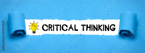 Fotomural Critical thinking