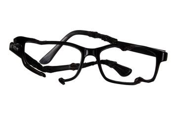 Wrecked Eye Glasses