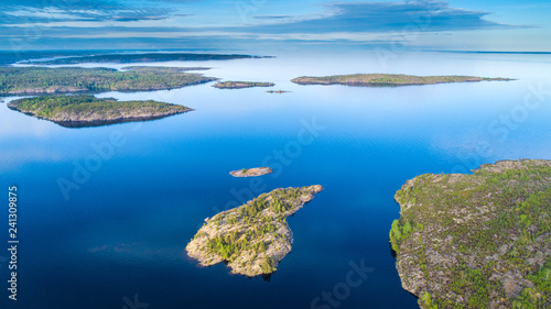 Fotografie, Obraz Islands from a height