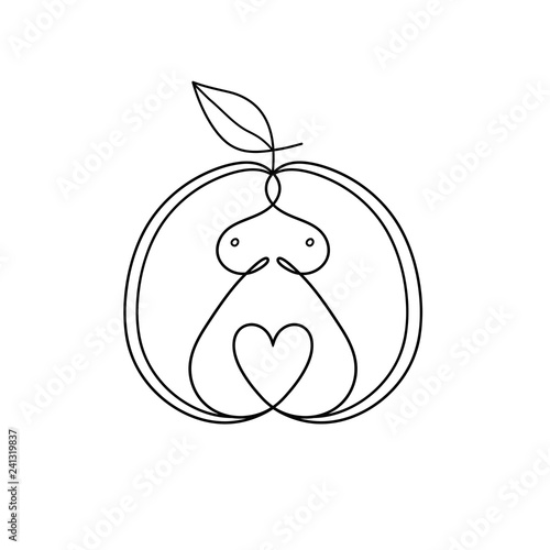 Apple Women Body Type Figure Sketch Linear Drawing Of A Female Figure In An Apple Buy This Stock Vector And Explore Similar Vectors At Adobe Stock Adobe Stock