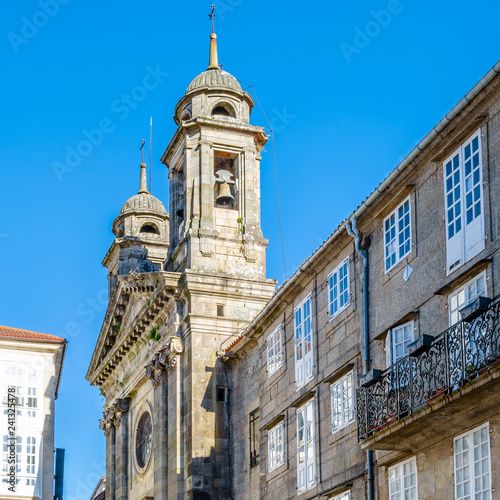 Fotografie, Obraz  Church in Santiago de Compostela
