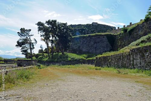 Fotografía  La tour de la mer de la vieille forteresse de la ville de Corfou