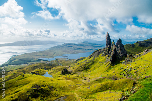Obraz na plátně Old Man of Storr (Skye, Scotland)