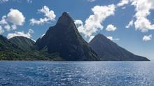 St Lucia – La Souffriere Bay – Caribbean Island
