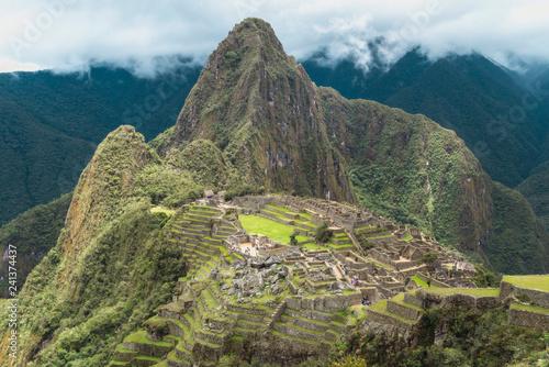 Fotobehang Zuid-Amerika land Machu Picchu landscape