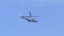 福島県警察のヘリコプ...
