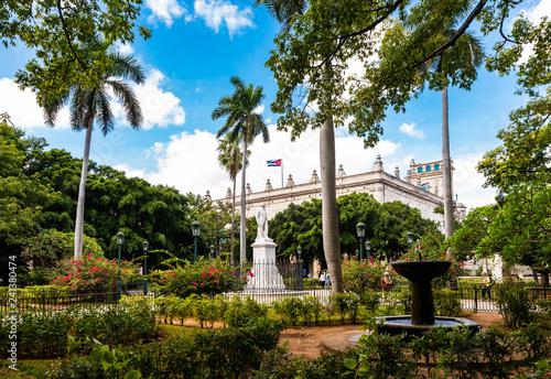 Poster Havana Plaza de Armas in Havanna