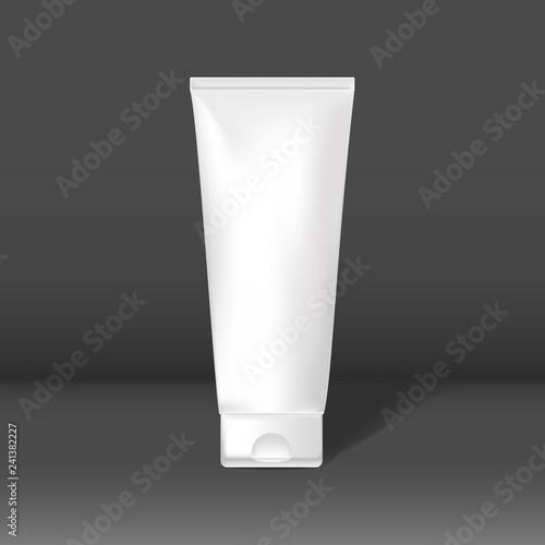 Fotografie, Obraz  Minimal cosmetic tube mockup