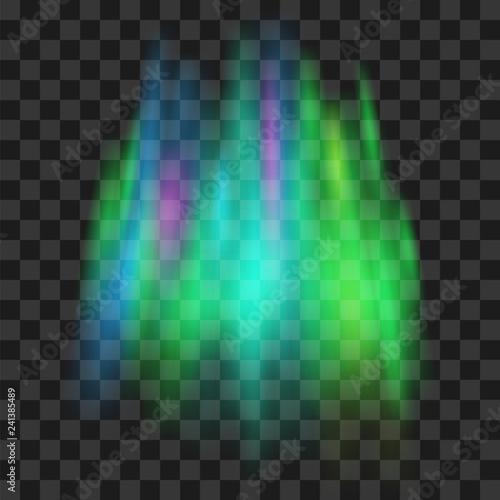 Northern lights Canvas-taulu