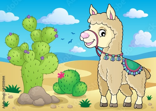 Llama theme image 1
