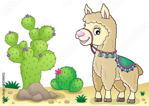 Llama theme image 2