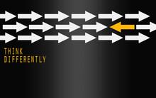 Yellow Arrow Changing Directio...