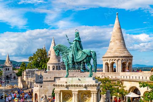 Foto op Aluminium Boedapest Fischerbastei Budapest