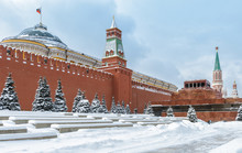 Moscow Kremlin On Red Square D...