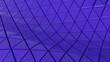 Leinwanddruck Bild - Clear pattern abstract floor background triangle purple, wallpaper futuristic - Illustration
