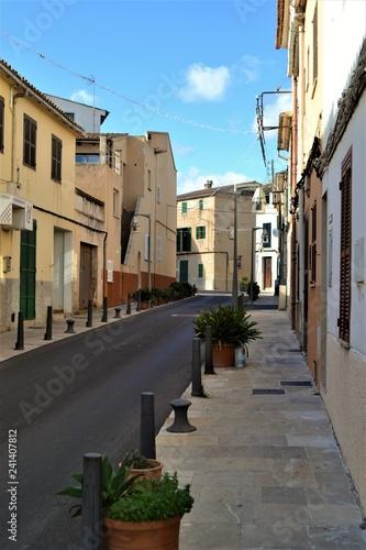 Fotografie, Obraz  Gasse in Spanien
