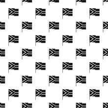 African Flag Pattern Vector Seamless Repeating For Any Web Design