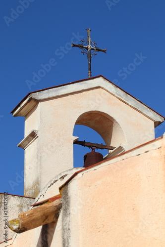 Fotografie, Obraz  Campanile a vela della Chiesa di San Simone a Cagliari