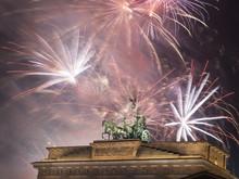 Fireworks Over The Brandenburg...