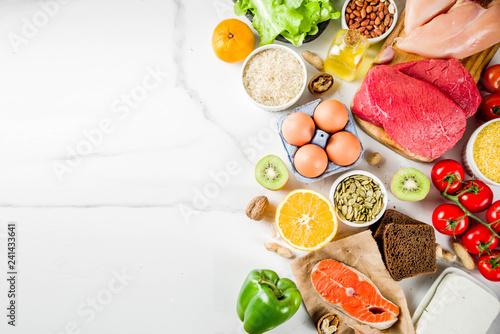 Fotografía  Fodmap healthy diet food