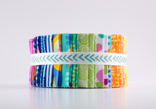 Fabric, Jelly Roll Quilting Fa...