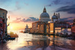 Venetian basilica at sunrise
