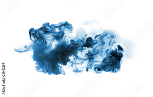 smoke isolated on white