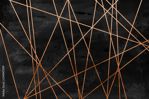 Canvas-taulu Modern contemporary creamy copper background