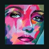 portret twarzy kobiety - 241448253