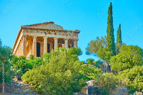 Photo  Temple of Hephaestus in Athens