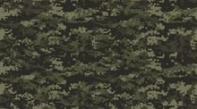 Print Texture Military Camoufl...