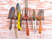 Set Of Tools Rake