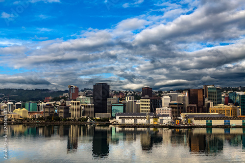 Foto op Plexiglas Oceanië New Zealand. Wellington, the capital city. The Waterfront