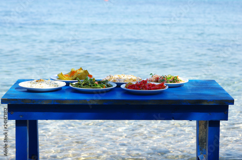 Incredible Table Of Traditional Aegean Appetizers At Sea Side Buy Machost Co Dining Chair Design Ideas Machostcouk