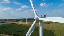 Close-up Of Wind Turbine - Win...