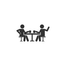 Talking Friends At The Table I...