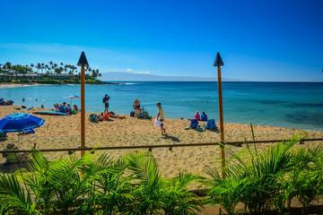 Napili Bay Beach, Maui, Hawaiian Islands