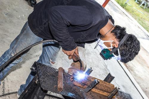Valokuva  Steel welding