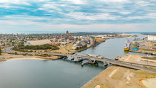Drone View Of Port Adelaide, S...