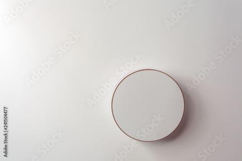 Fotografía  plafonnier rond design translucide
