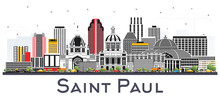 Saint Paul Minnesota City Skyl...