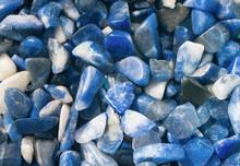 Lazurite Blue Spar Lapis Lazuli Raw Mineral Texture