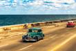 Oldtimer in Havanna auf dem Malecon